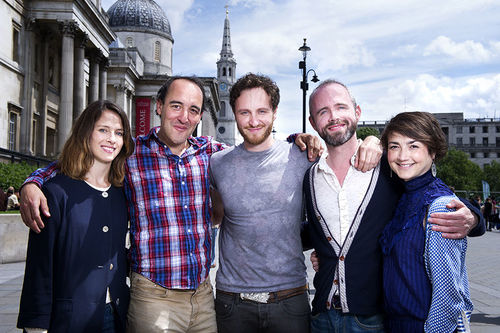 Fall 2014 Much Ado About Nothing London Cast Photo