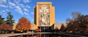 The University of Notre Dame's Hesburgh Library