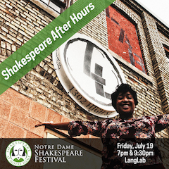 Shakespeare After Hours Web Promo